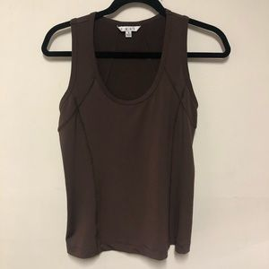 CAbi | Stretchy Brown Tank Size Small